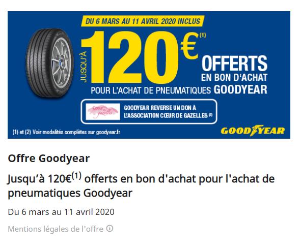 Offre gooyear