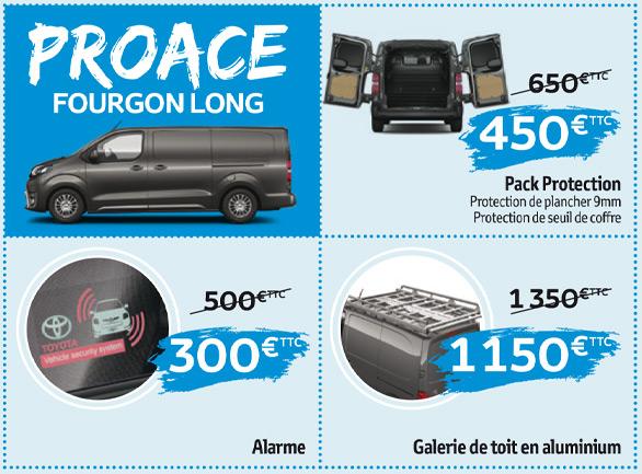 Proace fourgon long