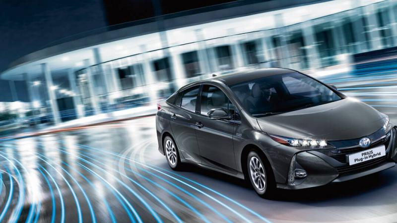 Prius Hybride Rechargeable - 1